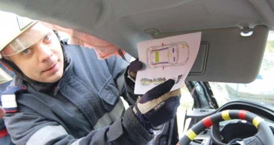 Şoferii NU sunt obligaţi să păstreze în maşină schiţa caroseriei autoturismului